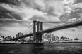 Brooklyn Bridge, from the Ferryt.jpg - 19240 Bytes
