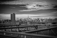 Sky over Manhattan- a View from the Brooklyn Bridget.jpg - 20480 Bytes